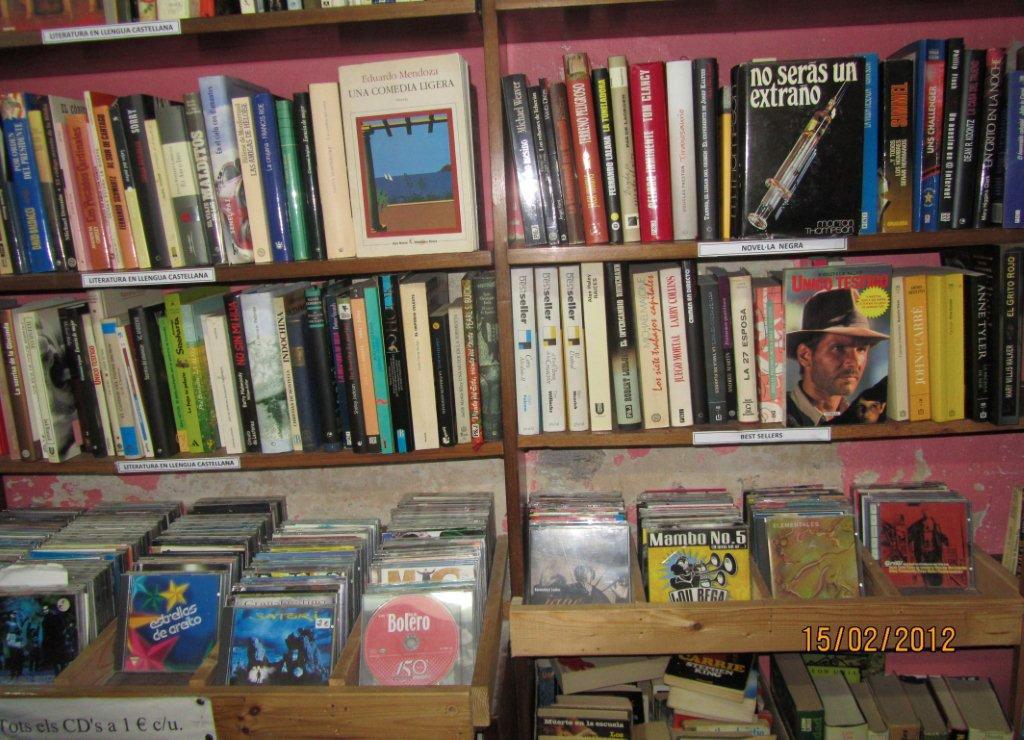 Llibres, CDs